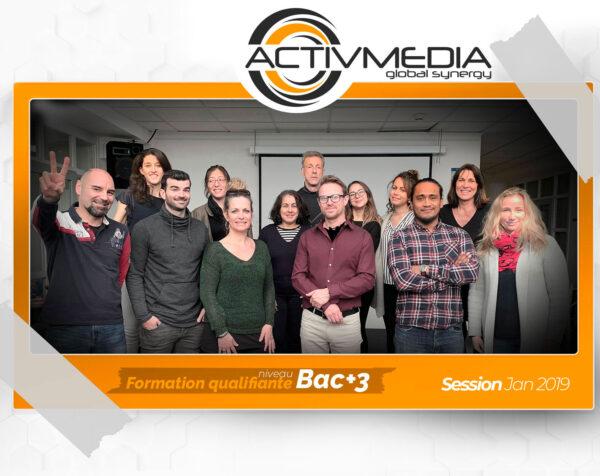 Centre de formation certifié - Communication digitale - Nice PACA. Titre pro webdesigner certification Bac+3. Tout financement et CPF.