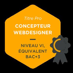 TITRE RNCP CONCEPTEUR WEBDESIGNER